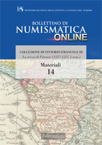 Bollettino di Numismatica on line - Materiali, n. 14-2014