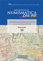 Bollettino di Numismatica on line - Materiali, n. 10-2013