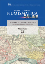Bollettino di Numismatica on line - Materiali, n. 23-2014