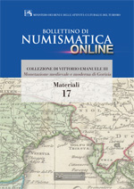 Bollettino di Numismatica on line - Materiali, n. 17-2014