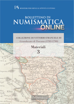 Bollettino di Numismatica on line - Materiali, n. 3-2013