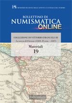 Bollettino di Numismatica on line - Materiali, n. 19-2014