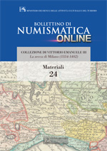 Bollettino di Numismatica on line - Materiali, n. 24-2014