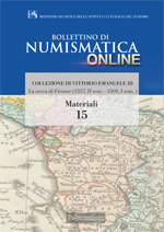 Bollettino di Numismatica on line - Materiali, n. 15-2014