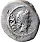 quinario   - gennaio-febbraio 44 a.C.
