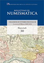 Bollettino di Numismatica on line - Materiali, n. 30-2015