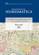 Bollettino di Numismatica on line - Materiali, n. 32-2015