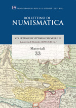 Bollettino di Numismatica on line - Materiali, n. 33-2015