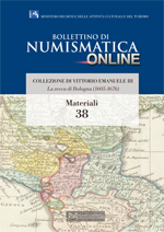 Bollettino di Numismatica on line - Materiali, n. 38-2016