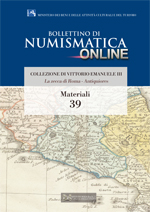 Bollettino di Numismatica on line - Materiali, n. 39-2016