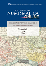 Bollettino di Numismatica on line - Materiali, n. 42-2016