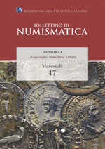 Bollettino di Numismatica on line - Materiali, n. 47-2016
