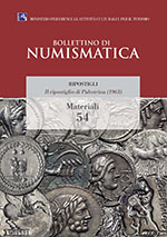 Bollettino di Numismatica on line - Materiali, n. 54-2017