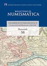 Bollettino di Numismatica on line - Materiali, n. 58-2017