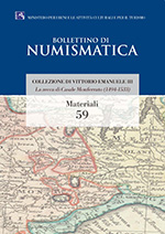 Bollettino di Numismatica on line - Materiali, n. 59-2017