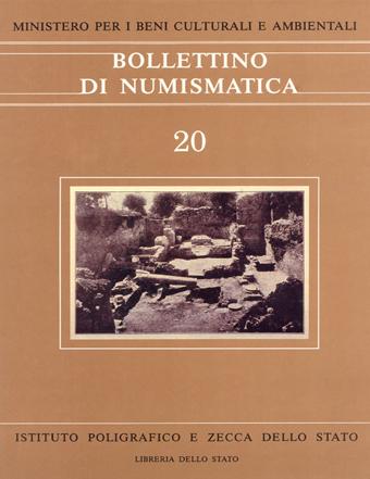 Bollettino n. 20 - 1993 gennaio-luglio