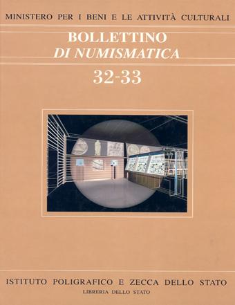 Bollettino n. 32-33 - 1999 gennaio-dicembre