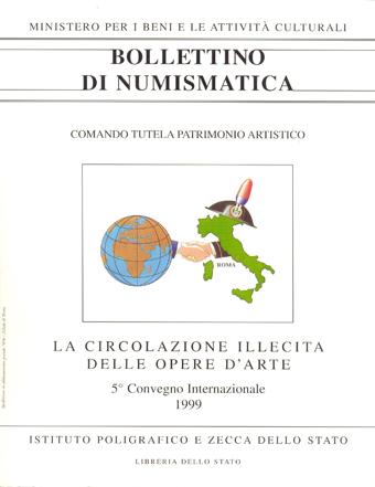 Supplemento al n. 34-35 - LA CIRCOLAZIONE ILLECITA DELLE OPERE D'ARTE - Roma 2000