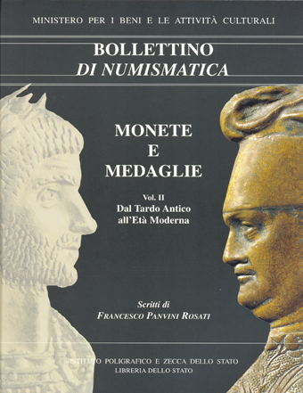 Supplemento al n. 37 - MONETE E MEDAGLIE. Scritti di Francesco Panvini Rosati - Roma 2004 a cura di Giuseppina Pisani Sartorio