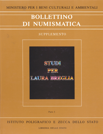 Supplemento al n. 4 - STUDI PER LAURA BREGLIA -  Roma 1987